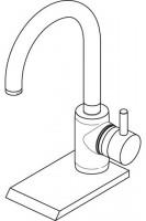 Ideal Standard Waschtisch-Armatur Celia mit hohem Auslauf