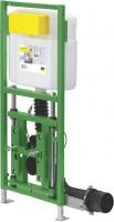Viega WC Element Viega Eco Plus 8161.22, in 1130x490mm Stahl grün