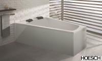 Hoesch Badewanne Largo Trapez 1800x1400 links,