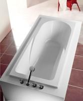 Hoesch Badewanne Regatta 1800x800 mit Duschzone,