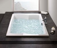Hoesch Badewanne Largo 2000x1400, weiß