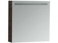 Laufen Spiegelschrank mit Beleuchtung Alessi One 1 Tür 1 Schublade links, o. Schalter, 650x650x165mm
