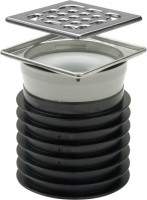 Viega Einsteckablauf Advantix 4937, in DN100 Kunststoff grau