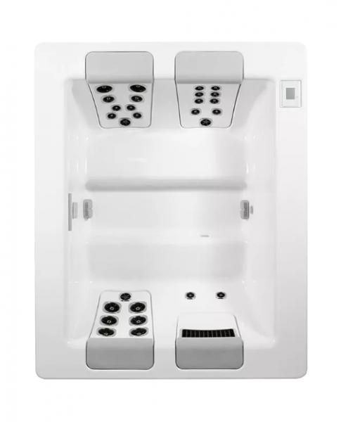 Villeroy & Boch Aussenpool Design Line JUST SILENCE COMPACT Rechteck 208 x 169 x 78 cm