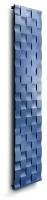 Caleido air zweilagig Badheizkörper B: 703 mm x H: 2015 mm