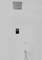 Tres elektronisches Thermostat Brauseset, mit Kopfbrause 550 x 210 mm