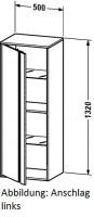 Duravit Hochschrank Ketho T:360, B:500, H:1320mm, KT1267R F./K.: terra