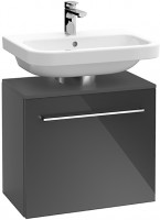 Villeroy & Boch Universal-Waschtischunterschrank A103 600x586x350mm Glossy Grey, A10300FP