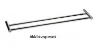Cosmic Inox Doppelte Hundtuchstange (63cm)
