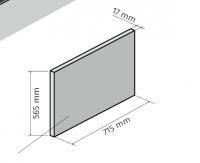 HSK Dobla Seitenschürze, Breite 715mm, 540174