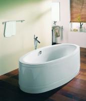 Bette Oval-Badewanne Home Comfort 8994, 180x100x45 cm weiss pergamon
