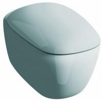 Keramag Tiefspül-WC Citterio, Rimless (spülrandlos) KeraTect weiß(alpin), 203570600