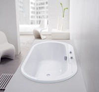 Hoesch Badewanne Foster oval 1900x980 freistehend