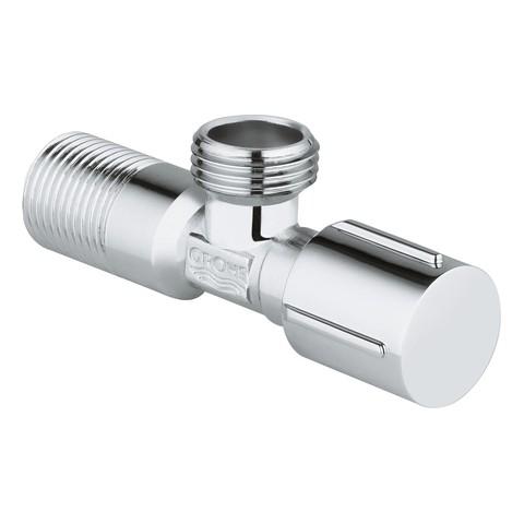 GROHE Eckventil 22042 DN15 1/2'' x 1/2'', Metallgriff chrom, 22042000