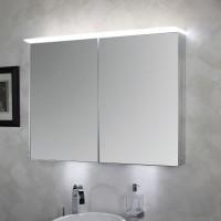Koh-I-Noor Spiegelschrank mit diffuser Led-Beleuchtung oberhalb. TOP 90x70x12,5, 45306