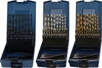 NORDWEST Handel AG Spiralbohrersatz DIN338 Typ N 1-10,5mm 0,5mm HSS-Co 24tlg.Ku.-kassette,