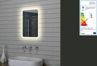 Neuesbad LED Lichtspiegel, B:400, H:600 mm
