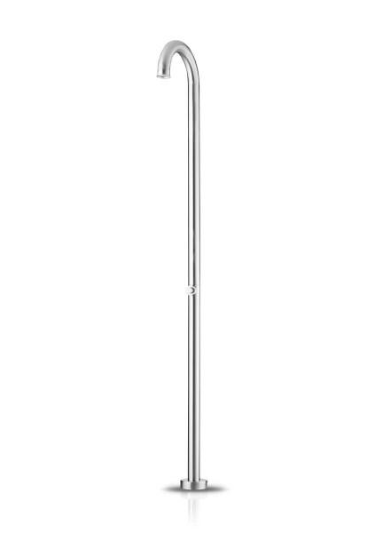 JEE-O original shower push freistehende Dusche, edelstahl poliert, 100-6501