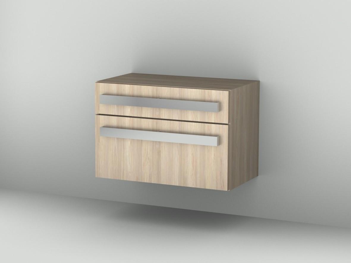 Sideboard Up2U GT12012, Esche Natural-Touch, H:540, B:800, T:449 mm GT12012