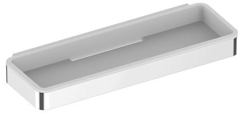 Keuco Duschkorb Plan 14959, Kunststoff-Einsatz, lichtgrau, lose, 14959000138