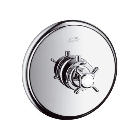 Hansgrohe Thermostat Unterputz Axor Montreux Fertigset brushed nickel, 16810820