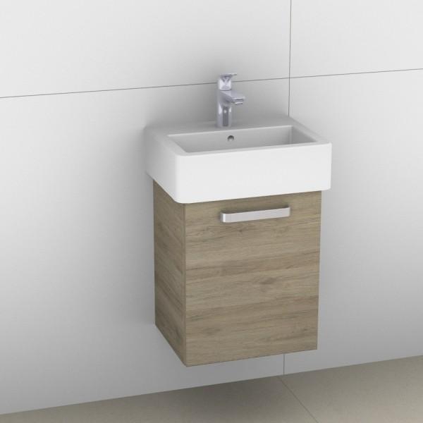 Artiqua 411 Waschtischunterschrank für Vero 070445, Sanremo Eiche quer NB, 411-WUT-D22-R-7144-428
