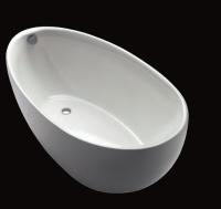 Repabad Ferrara Mono 180/85 F freistehende Badewanne, L: 1800, B: 850, H: 760 mm, weiss