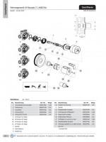 Ideal Standard Rosette, kpl., Mehrwegeventil, A962877AA