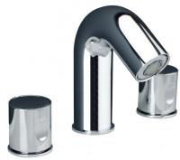 IB Onlyone aeratore 3-Loch Waschtischarmatur gold, ohne Ablaufgarnitur