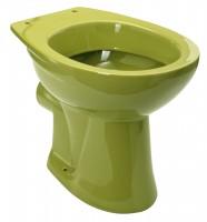 Neuesbad Stand-Tiefspül-WC, Abgang waagerecht, moosgrün / oliv