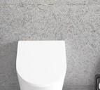 Forty3 Urinal-Deckel, weiss, FO024BI, mit Absenkautomatik FO024BI