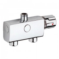 GROHE THM-Batt. Automatic 2000 Compact 34361 DN15 ohne Mengenregulierung chrom