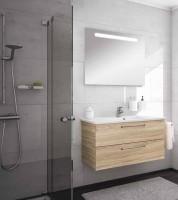 Neuesbad Serie 200 Badmöbelset B: 1000 mm, mit Spiegel