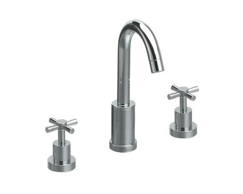Waschtischarmatur 3-Loch Iliada 6342VA