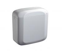 Oli Ausatz-Spülkasten Zaffiro Dd Weiß 2-Mengen, 403X407X166