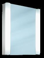 Schneider Spiegelschrank Splashline 60/1/FL, 2x14W+1x11W 600x690x120 alueloxiert, 103.060.02.50