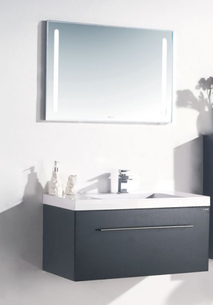 Badmöbelset 90 cm breit inkl Waschtisch Unterschrank