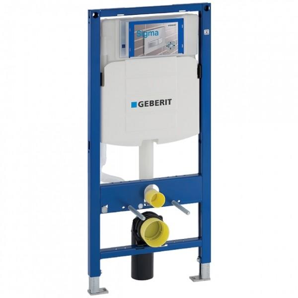 Geberit Duofix Wand-WC-Element 112 cm, 111300005, mit Unterputz-Spülkasten Sigma