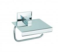 Neuesbad Papierhalter mit Deckel LUK chrom