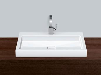 alape aufsatzbecken re700h 2 3209000 wei antibakteriell. Black Bedroom Furniture Sets. Home Design Ideas
