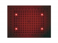 Bossini DREAM Rectangular Flat light RGB Cromotherapy mit 4 LED`s, 470 x 370 mm