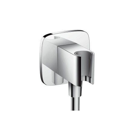 Hansgrohe Brausehalter FixFit Porter E für Handbrause chrom, 26485000