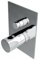 IB Onlyone aeratore Unterputz Wanne/-Brausearmatur mit Umsteller brushed nickel, inklusive Einbaukör