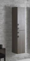 Globo 4ALL Hochschrank mit 2 Türen, B:35, T:30, H:160cm, MDC907, Frontfarbe/Korpusfarbe: desert
