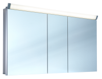 Schneider Spiegelschr. Paliline/150/3/LED, 1x34W+1x26W 1500x760x120 alueloxiert, 159.150.02.50