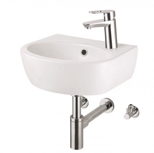 Neuesbad Design Waschtisch Set 40 cm, mit Grohe Armatur