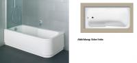 Bette Rechteck-Badewanne Set Comfort 3760, 170x80x38 cm