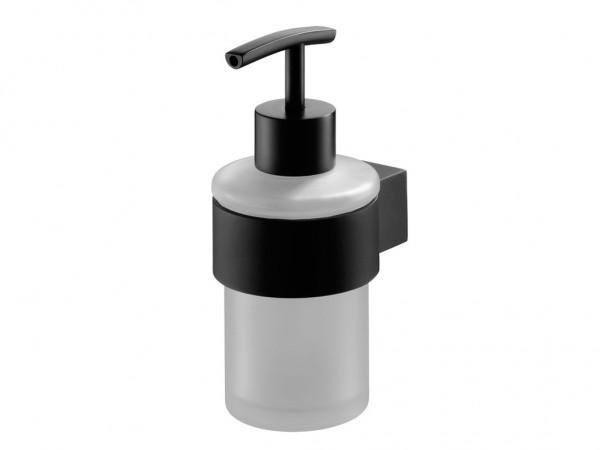Neuesbad Futura black Seifenspender, Farbe: schwarz matt