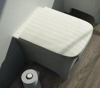 ArtCeram Cow Stand-Tiefspül-WC, B: 380, T: 520 mm, weiss matt