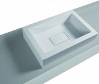 Keramag Aufsatz-Waschtisch Washtop E classic 405474, B: 574, T: 394 mm, 406574016, weiss